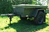 1966 Willy's Jeep Military Trailer