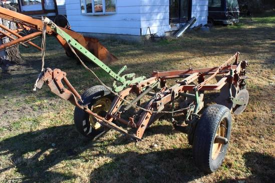 Case Three Bottom Plow