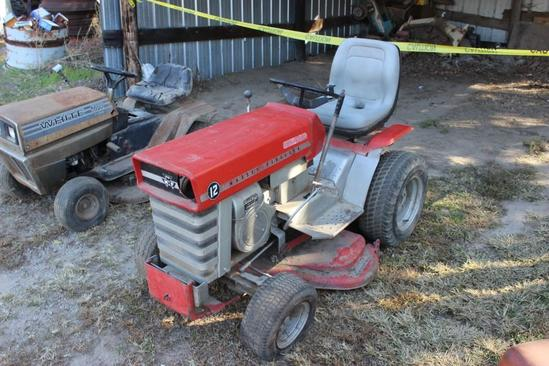 Massey-Ferguson Garden Tractor
