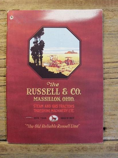The Russell & Co. Steam and Gas Tractors