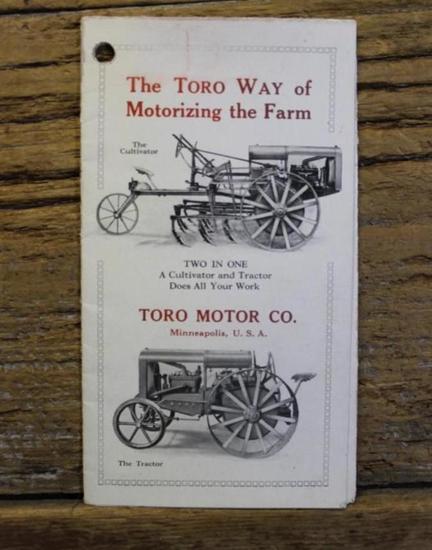 Toro Motor Company Foldout Brochure