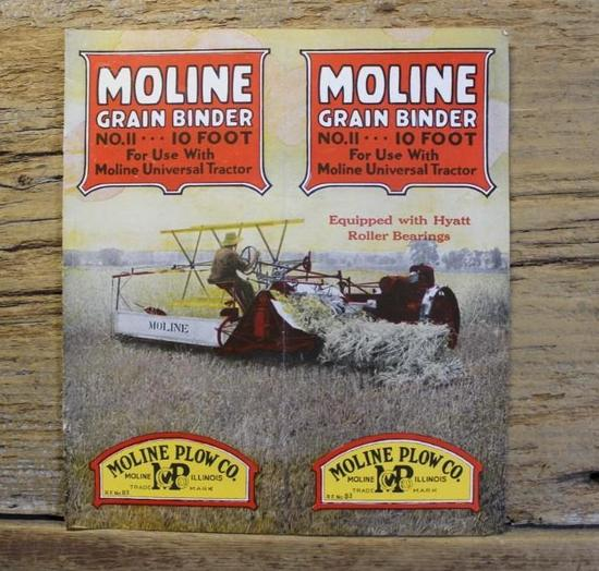 Moline Grain Binder Brochure