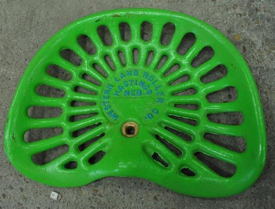 Land Roller Company Seat