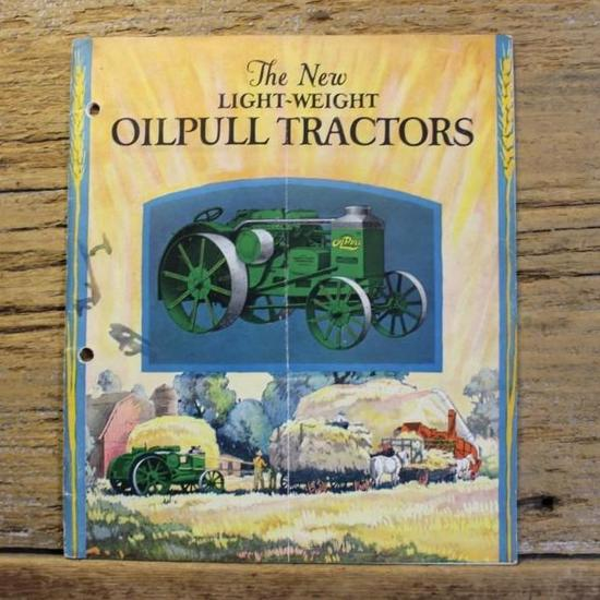 The New Light-Weight Rumely Oil Pull Tractors Catalog