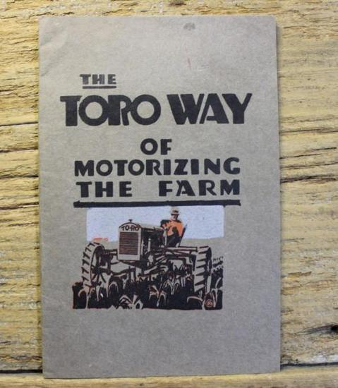 The Toro Way of Motorizing The Farm