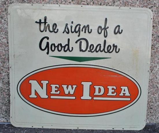 New Idea Dealership Sign