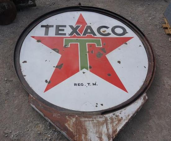 Texeco Large Double Sided Sign with Stand