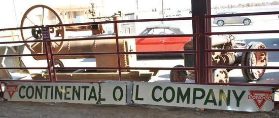 Conoco Porcelain Petroleum Sign