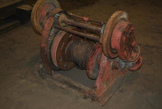 Donkey Two Cylinder Steam Winch