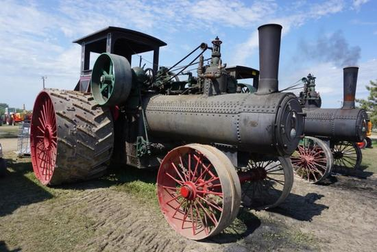 1912 110 HP CASE TRACTION ENGINE