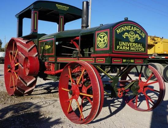 Minneapolis Universal Farm Tractor