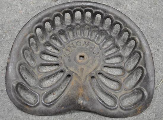 Kingman No. Four Cast Iron Seat