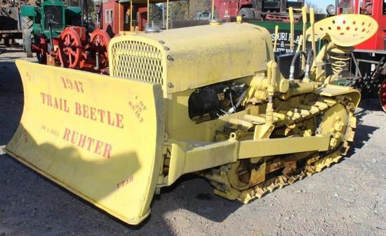Trail Beetle Crawler Tractor