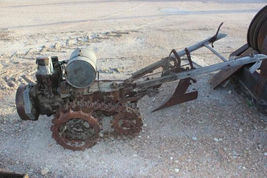 Vaughan's Flex Tred Tractor