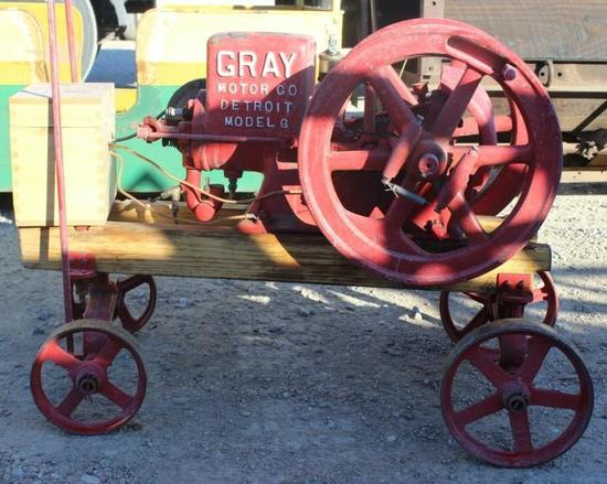 Gray Stationary Engine