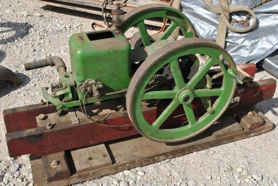 Root & Vandervoort Stationary Engine
