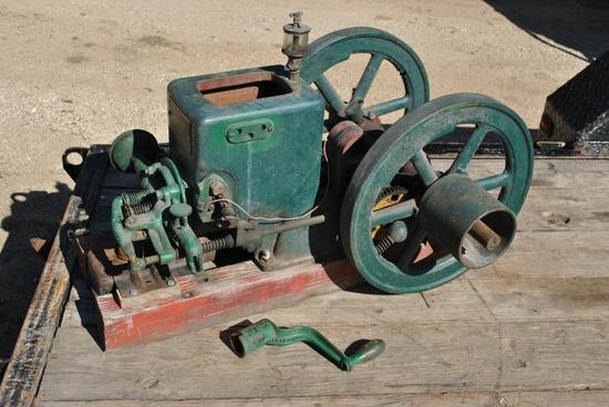 Fuller & Johnson Stationary Engine