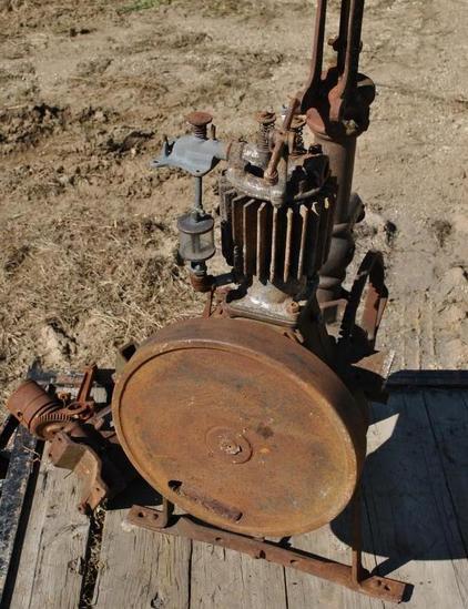 Fuller and Johnson Farm Pump Engine