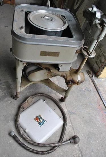Maytag Washing Machine with Meat Grinder and Churn