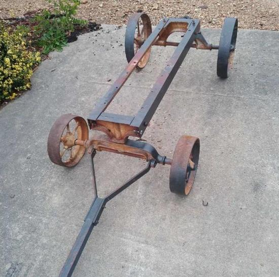Galloway Engine Cart