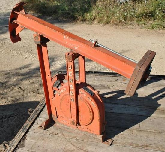 Jenson Walking Beam Pump Jack