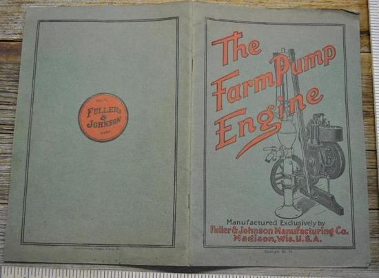 Fuller & Johnson Mfg. Co. - The Farm Pump Engine