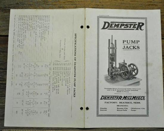 Dempster Pump Jacks