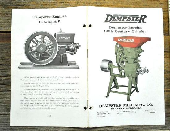 Dempster Equipment Manual
