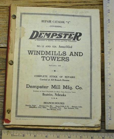 """Dempster Catalog """"a"""""""