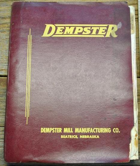 Dempster Sales and Repair Manual