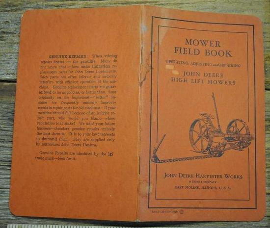Mower Field Book