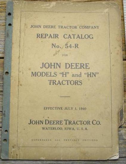 John Deere 54-R Catalog