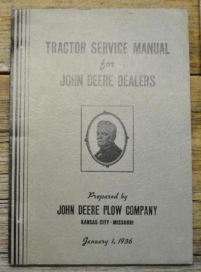 John Deere Dealer Manual