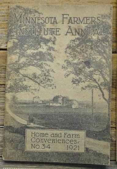 Minnesota Farmer Institute Annual