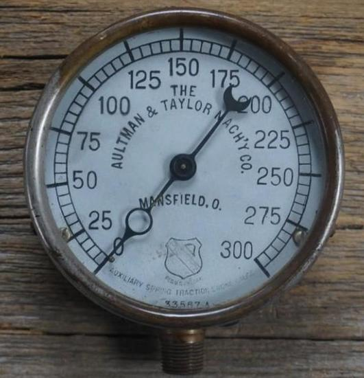 The Aultman & Taylor Mach'y Co. Gauge
