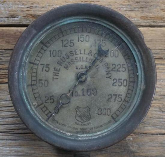 The Russell & Company Steam Gauge