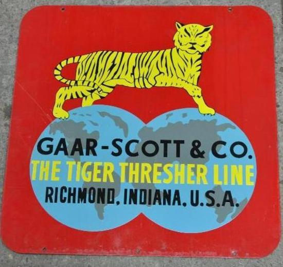 Gaar Scott Tin Sign