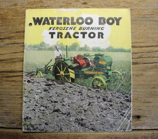 Waterloo boy Kerosene Burning Tractor