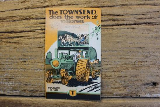 The Townsend Does The Work of 10 Horses Brochure