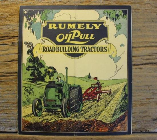 Rumely Oil Pull Road-Building Tractors