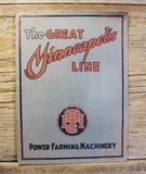 The Great Minneapolis Line