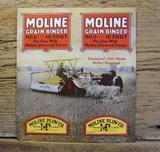 Moline Grain Binder Brochure