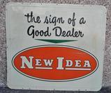 New Idea Dealership Sign