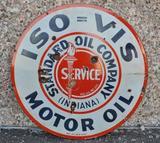Standard Motor Oil Porcelain Sign