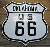 Oklahoma US 66 Sign