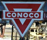 Conoco Petroleum Large Double Sided Sign