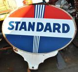 Standard Petroleum Large Double Sided Sign