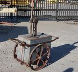 Curb side oil kerosene pump.