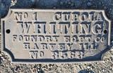 Whiting Cast Sign