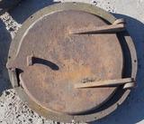 Cast Door and Ring
